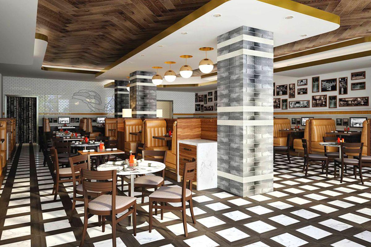 Canter's Deli restaurant rendering