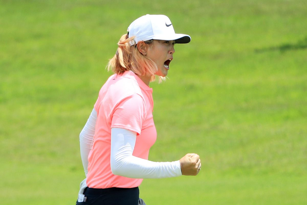 Michelle Wie bounces back from injury to lift Women's World Championship