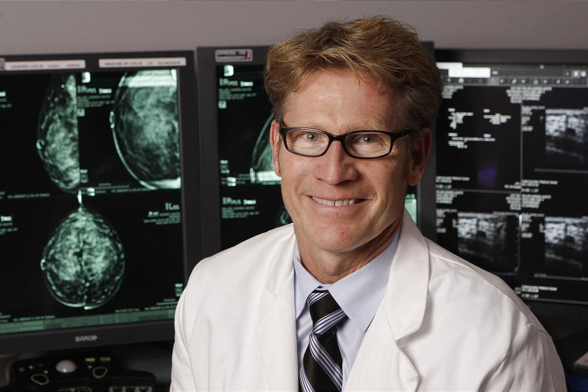 Dr. Brett Parkinson, with Intermountain Medical Center in Murray,  is working hard to find breast cancer at its earliest stage.