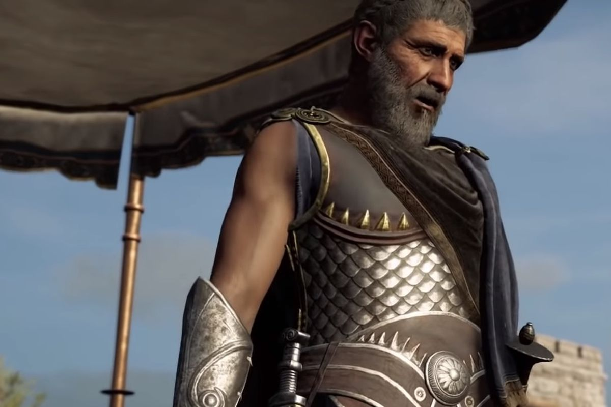 Assassin's Creed Odyssey has its own tribute to the battle royale