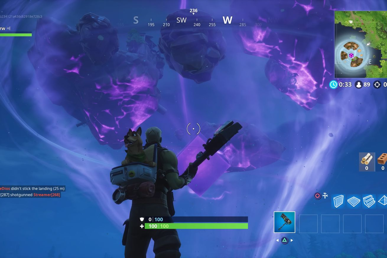 fortnite s monster filled halloween mode ends sunday with a one time event