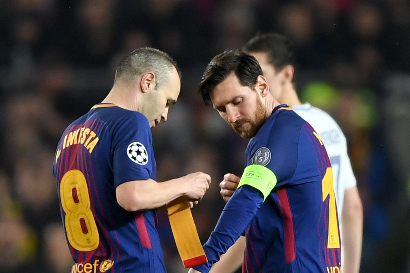 Messi is an absolute godsend, says Iniesta
