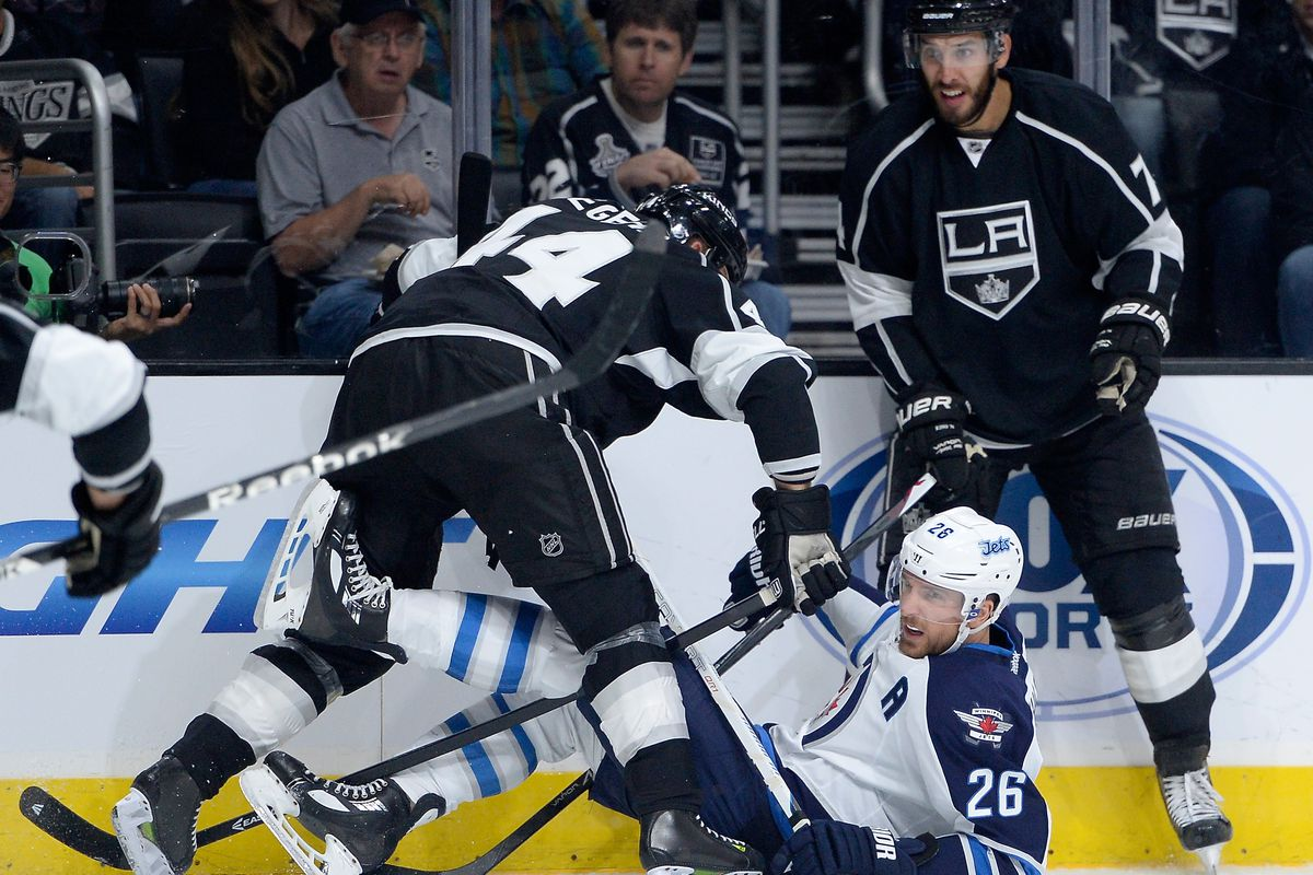 A happier time, when my biggest concern was Robyn Regehr and not extinction.