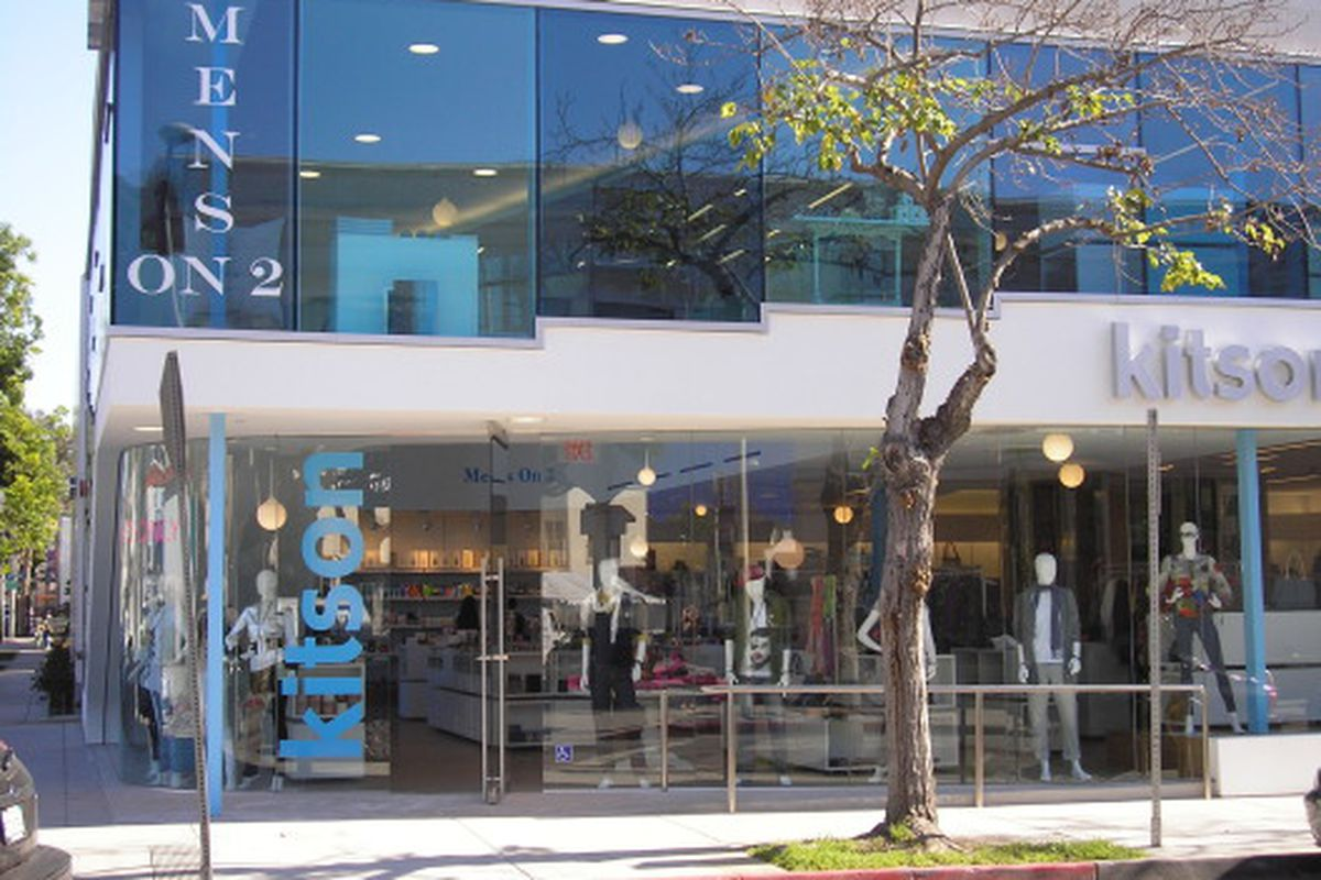 Kitson's two-story Melrose Ave shop