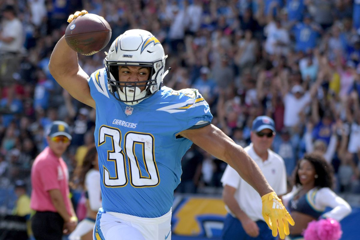 Chargers Rb Austin Ekeler Will Be Active For Ravens