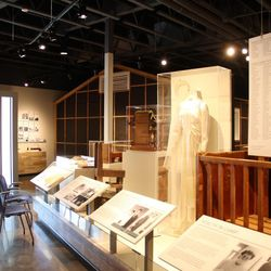 An exhibit at the newly remodeled Topaz Museum. The museum, located in Delta, commemorates survivors of the World War II Japanese-American Topaz Internment Camp.