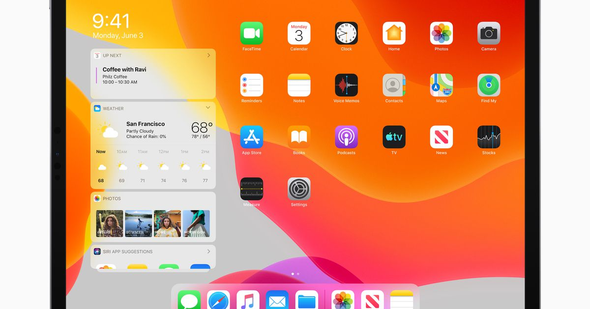Apple iPadOS for iPad: new home screen, multitasking improvements
