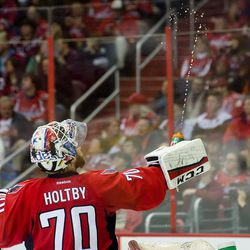 Holtby Squirts Bottle