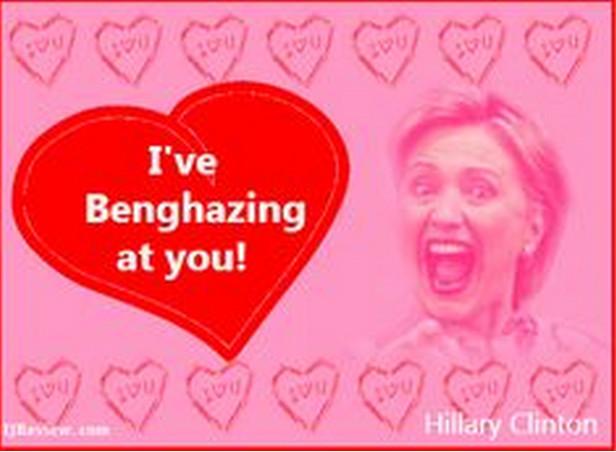 Benghazing Valentine
