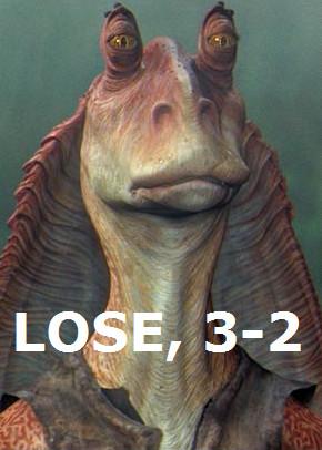 LOSE, 3-2