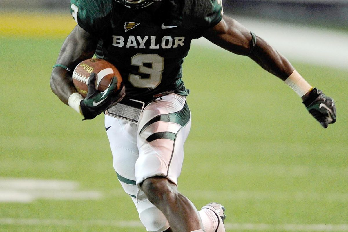 Look familiar?  Demetri Goodson is tearing it up on the gridiron for Baylor.