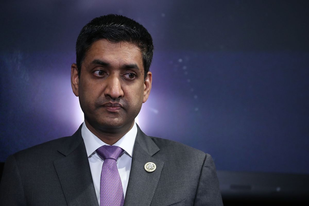 Silicon Valley Congressman Ro Khanna says something has to be done about tech — but not too much