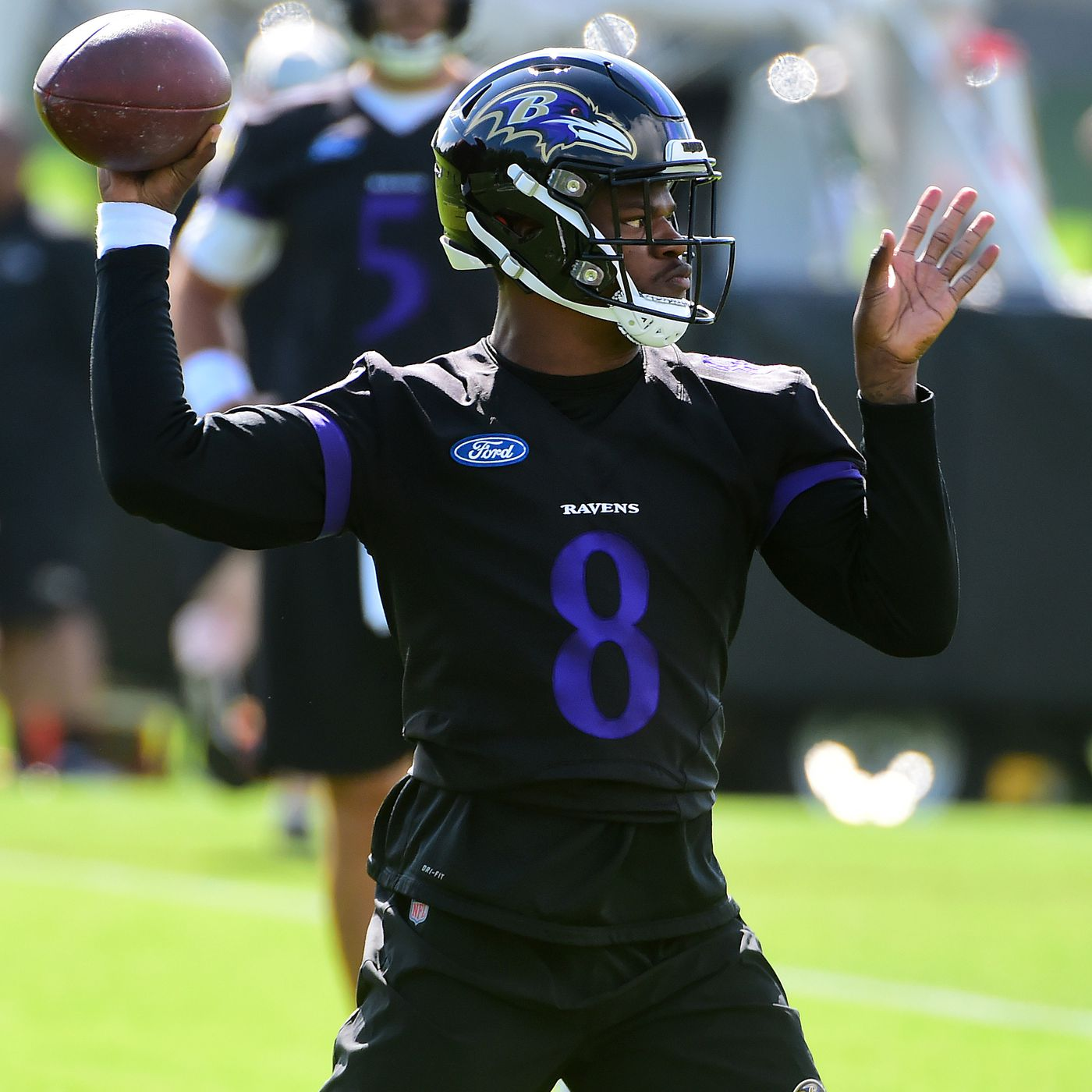 check out 8e2f8 0a269 Will the Ravens have Lamar Jackson and Joe Flacco both on ...