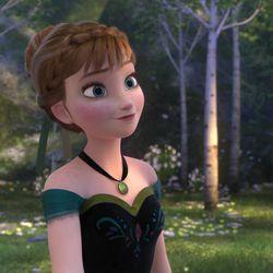 """Anna in """"Frozen."""""""