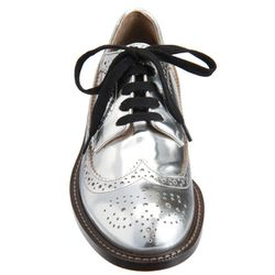 "<b>Marni</b>, <a href=""http://www.barneys.com/Marni-Metallic-Oxford/502193418,default,pd.html?cgid=womens-shoes&index=18"">$685</a>"