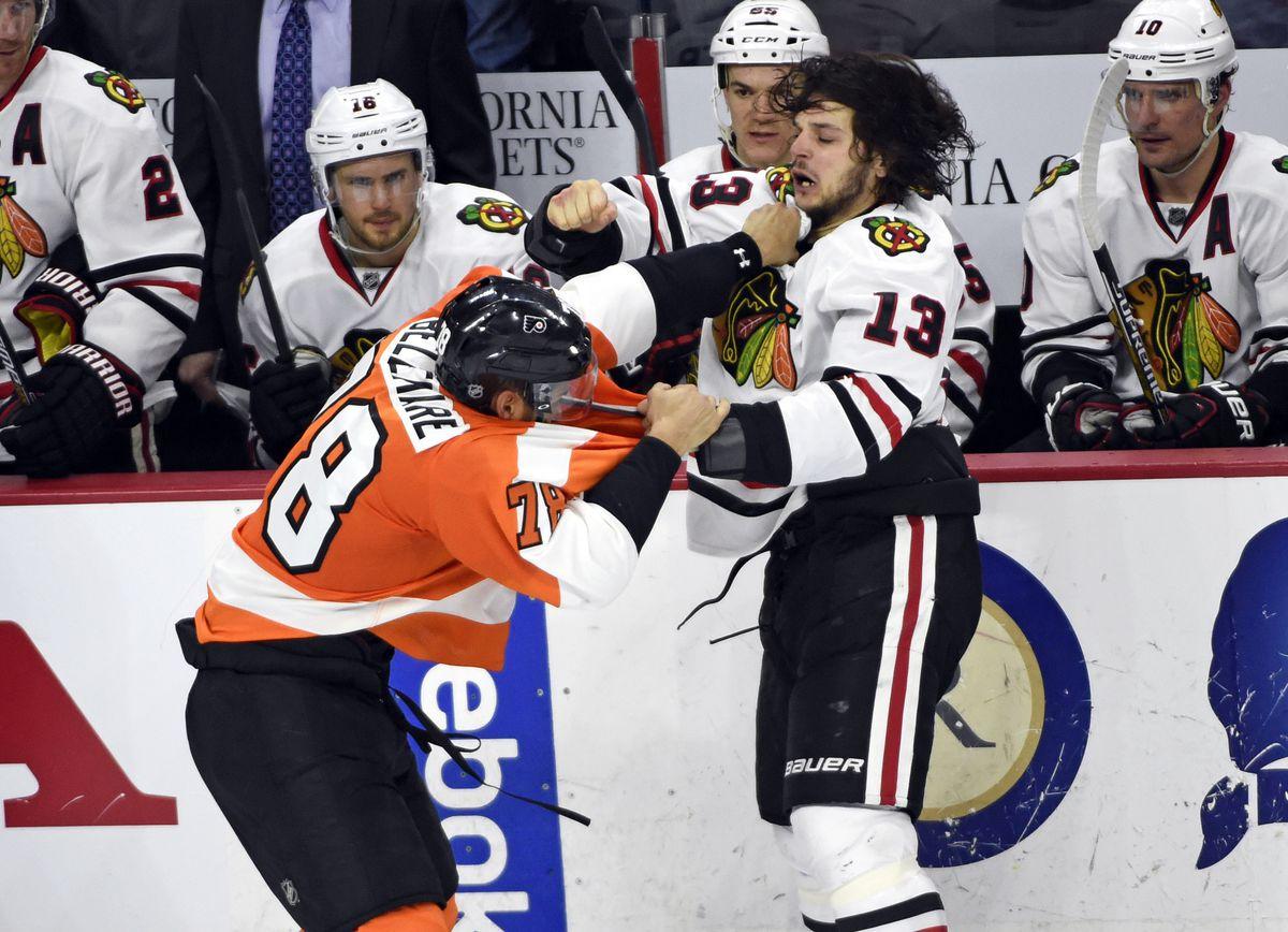 NHL: Chicago Blackhawks at Philadelphia Flyers