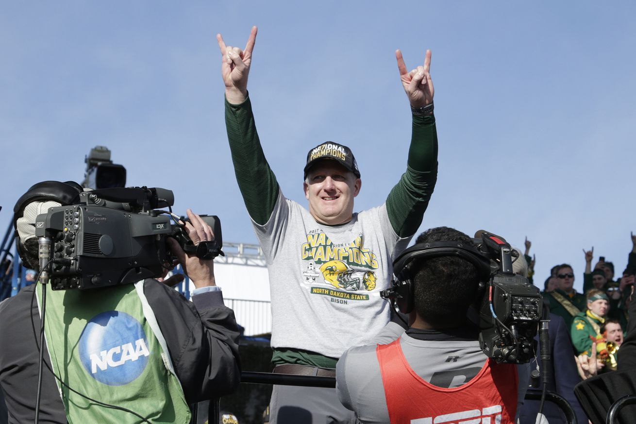 K-State hires the guy running NDSU's dynasty to follow Bill Snyder