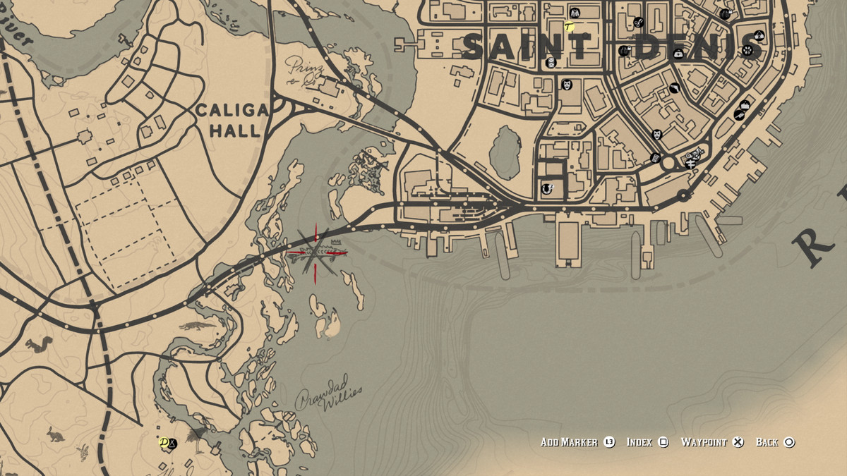 Red Dead Redemption 2Legendary Lake Sturgeon location