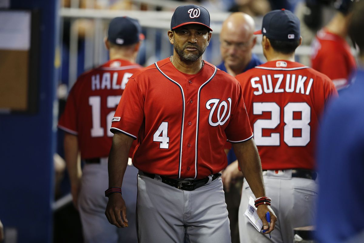 Washington Nationals' manager Davey Martinez joining team in Miami after health scare...
