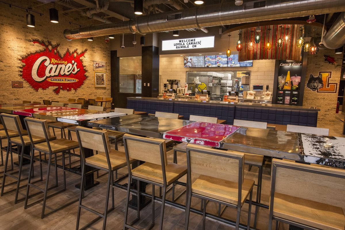 Inside Raising Cane's Chicken Fingers First Chicago ... Raising Cane's Locations