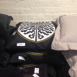 Decorative pillows, $149
