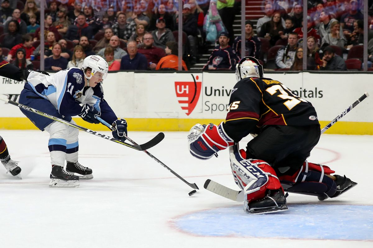 AHL: FEB 22 Milwaukee Admirals at Cleveland Monsters