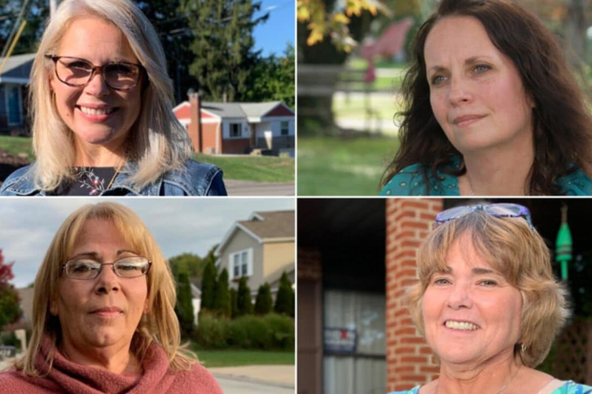 white women who voted for Trump