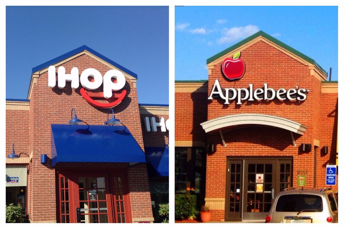 WHG Applebee's. Together is Good! All of WHG's 34 Applebee's Grill & Bar restaurants are right here in the Badger State. We offer the best menu around stock full of your favorite entrees plus new menu items coming all the time.