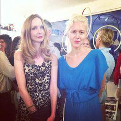 Wren designer Melissa Coker with TenOverSix co-founder Kristen Lee