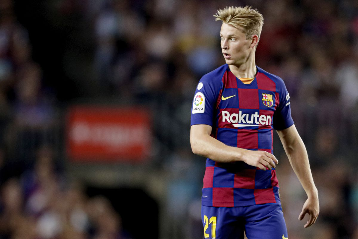 Frenkie De Jong Explains Why He Chose Barcelona Over Man City Psg Barca Blaugranes