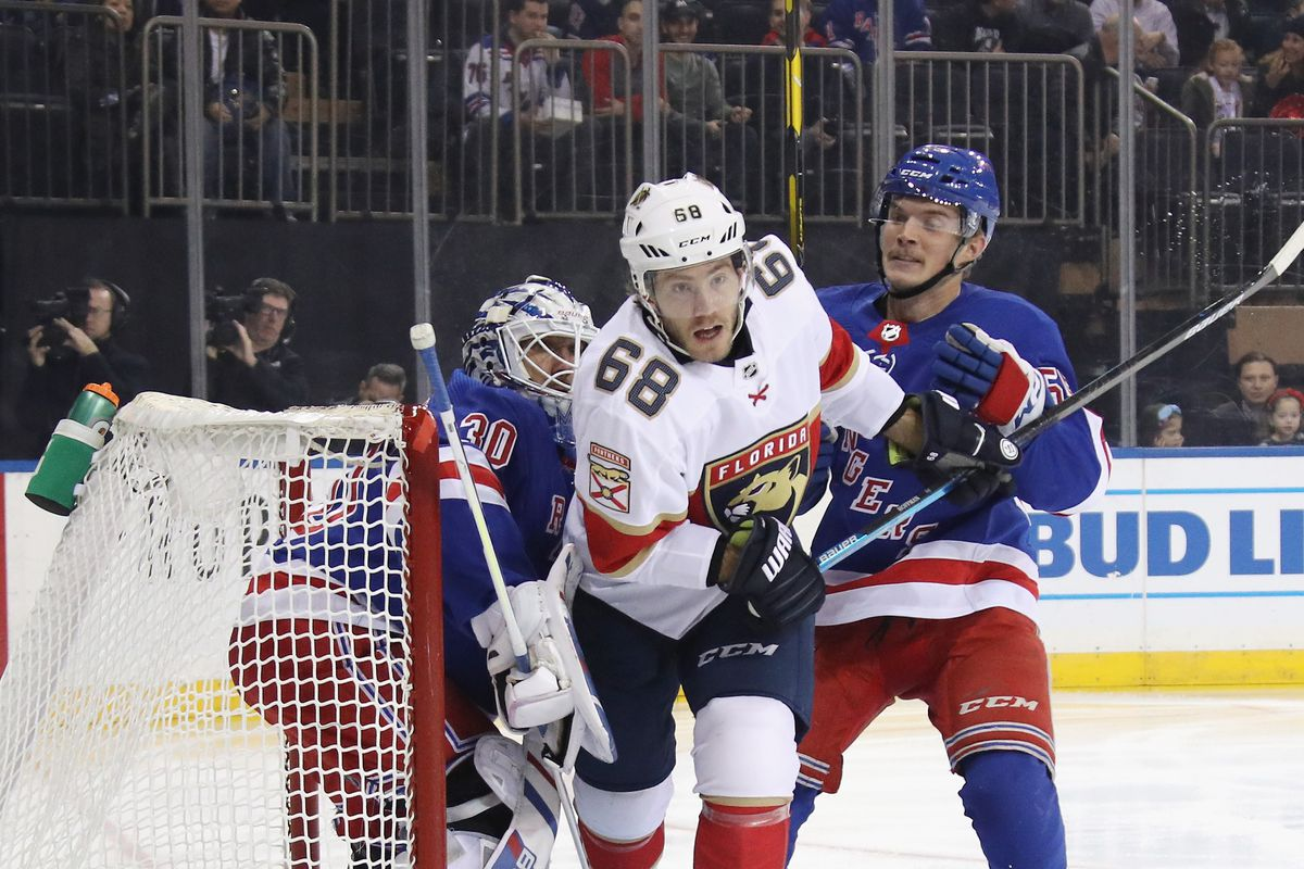 Rangers vs Panthers: High Scoring Game Ends in Shootout Loss For Rangers