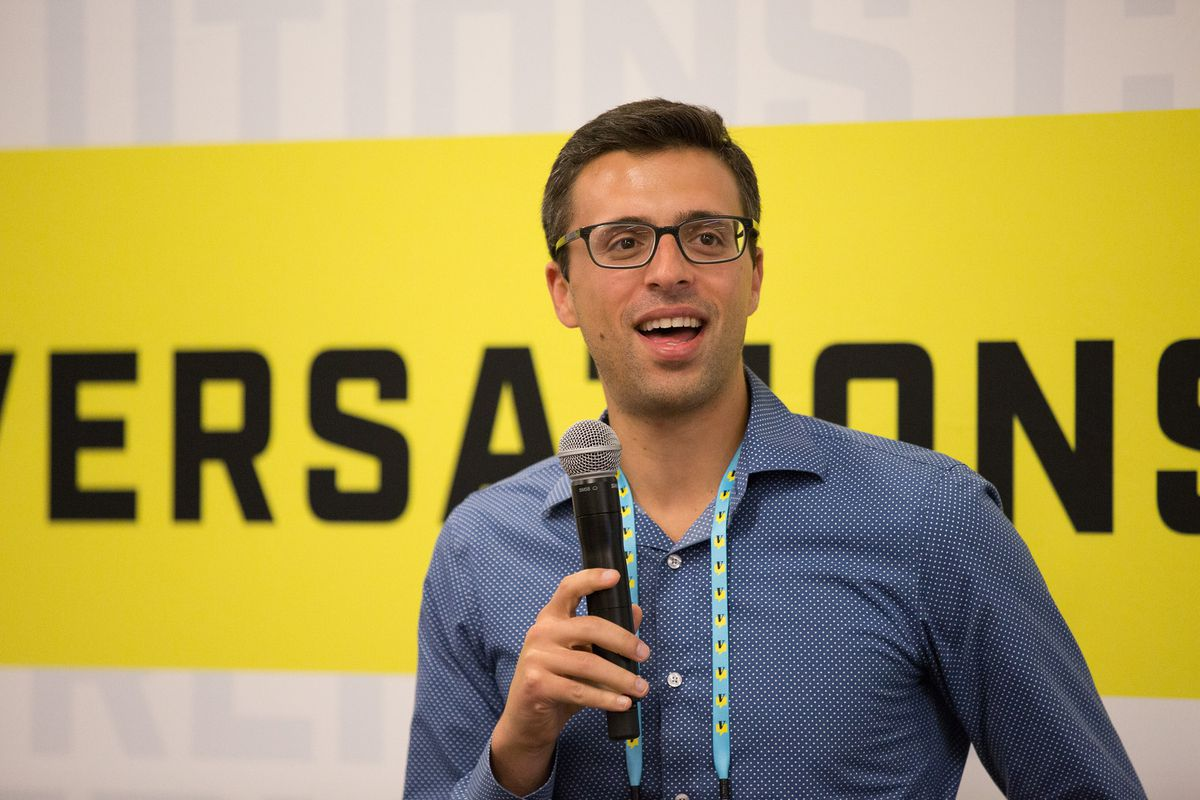Ezra Klein at the Vox Conversations unconference in September, 2016.
