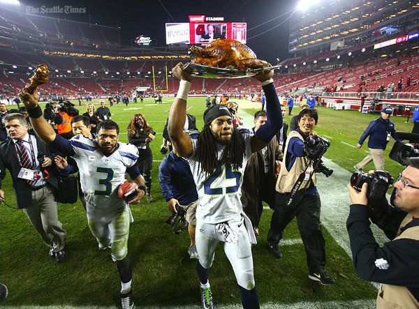 9e9785cd Turkey Leg Award is the best NFL football on Thanksgiving tradition ...