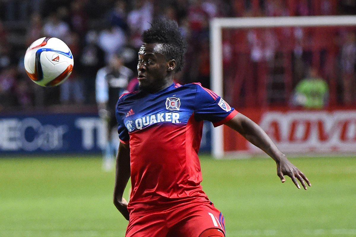 David Accam's tricky hamstring shouldn't keep him from the lineup this evening.