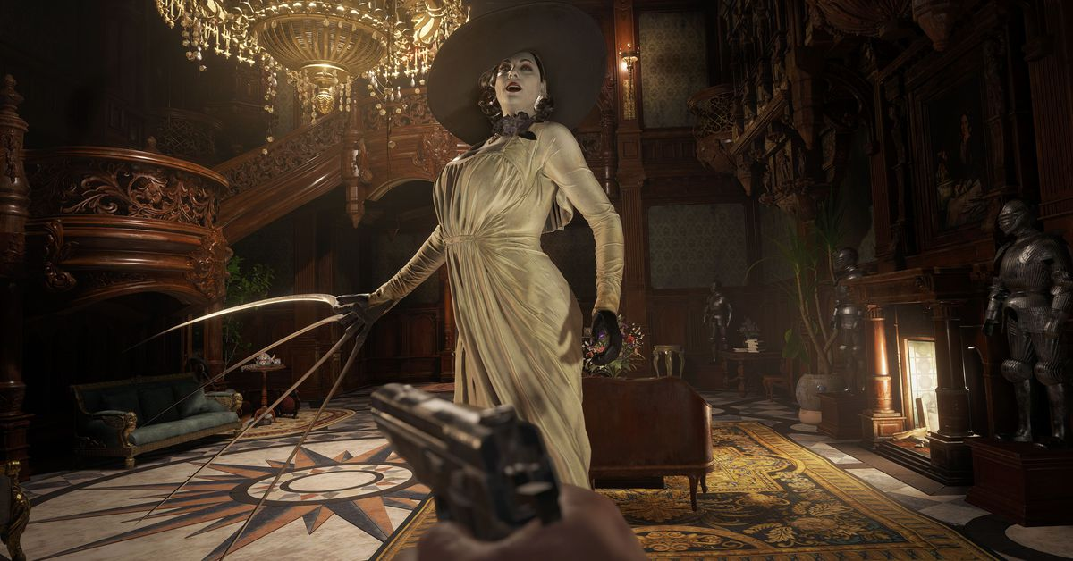Resident Evil Village has more guns but fewer scares