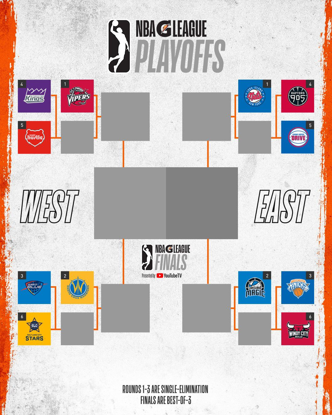 g league playoff bracket