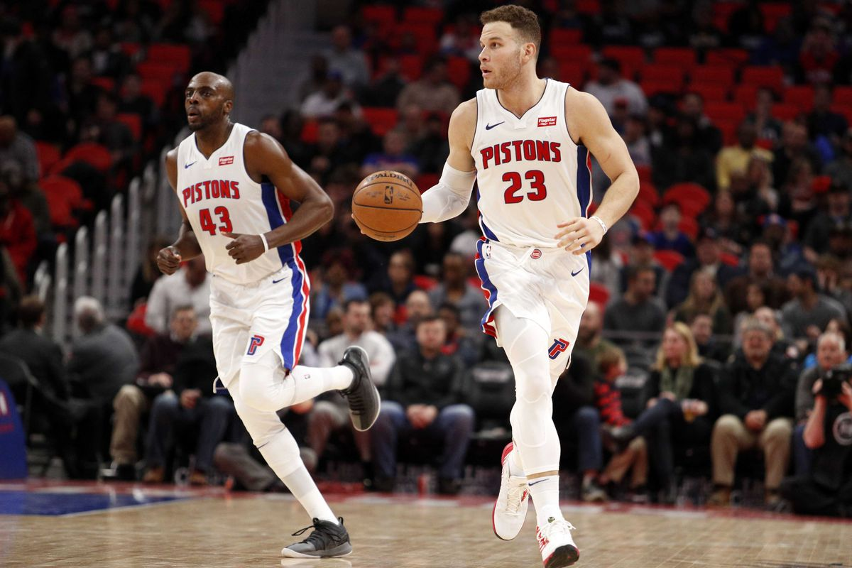 timeless design aee18 9e4a4 NBA scores 2018: Blake Griffin's Pistons have won 4 straight ...