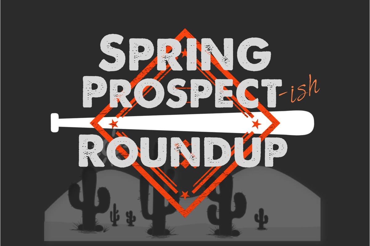 Spring Prospect-ish Roundup