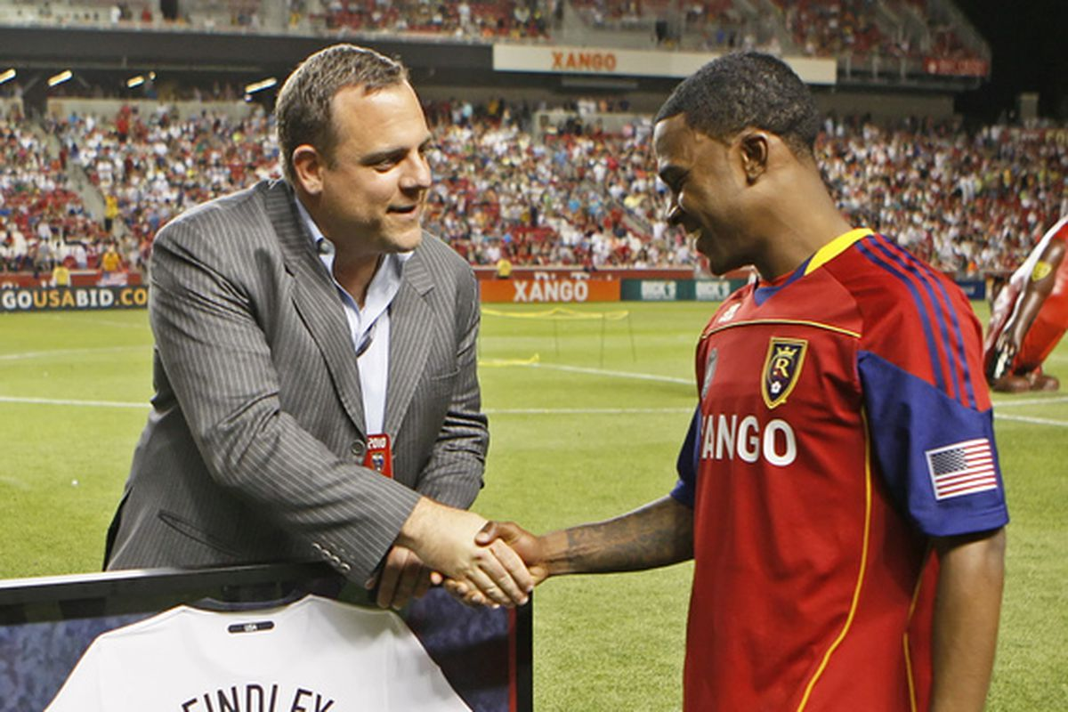 Lagerwey is not an MLS dinosaur.  This picture proves it!