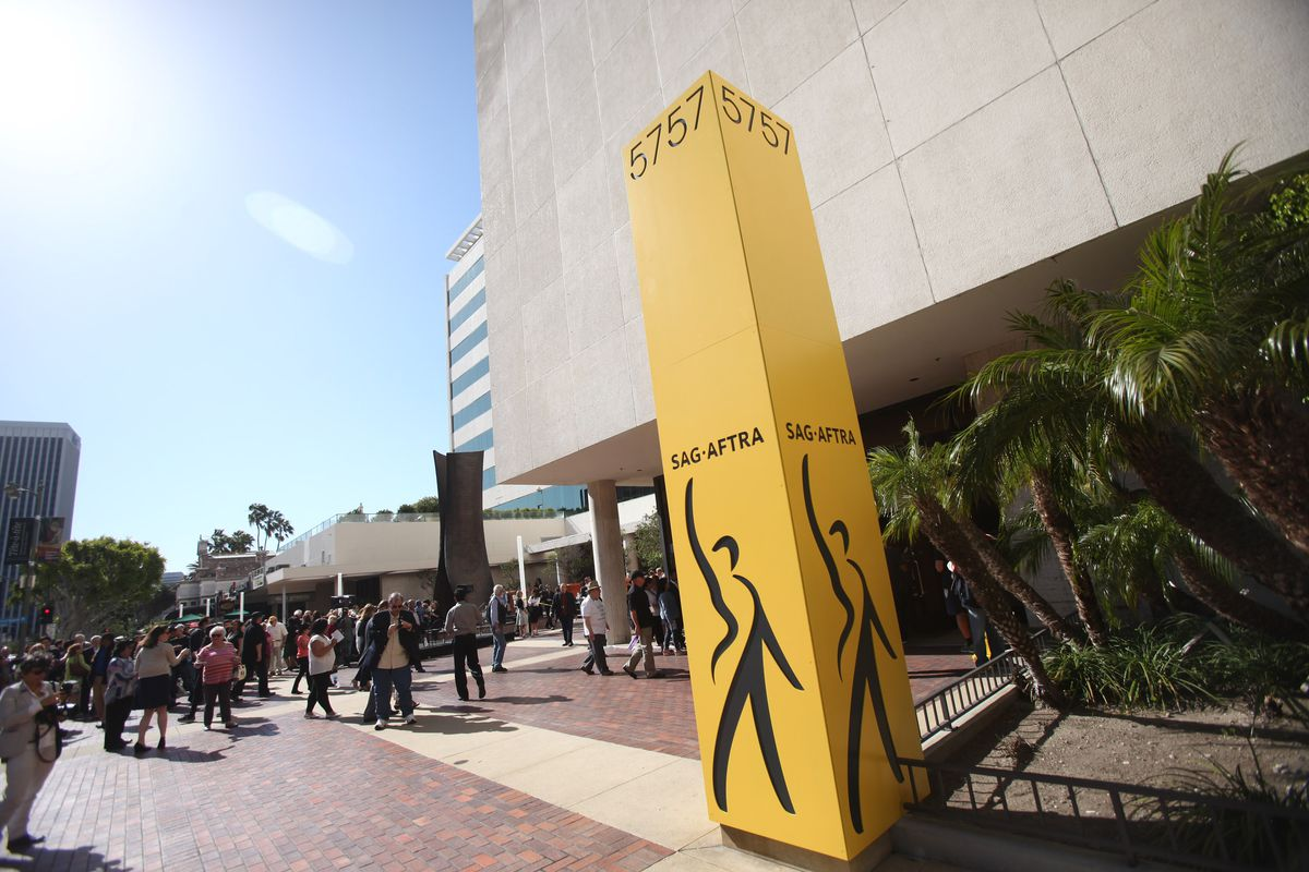 SAG-AFTRA Press Conference held at SAG-AFTRA on April 16, 2015 in Los Angeles, California