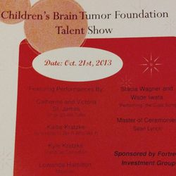Tonight's gig: painting at the <b>Friar's Club for Children's Brain Tumor Foundation</b> Talent Show. The funniest thing was watching the comedians squirm as they tried to tell only clean jokes as there were children in the audience.