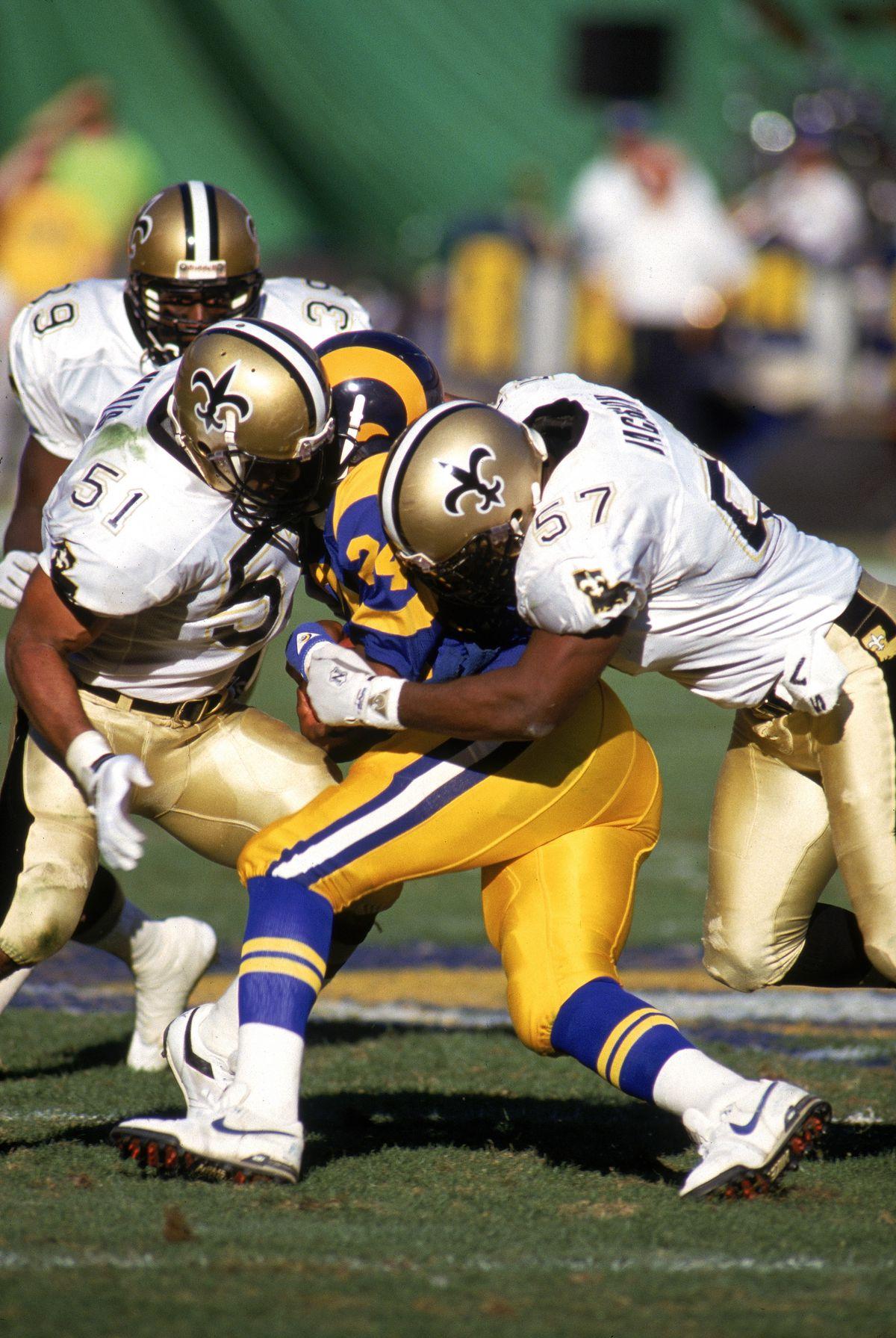 New Orleans Saints v Los Angeles Rams