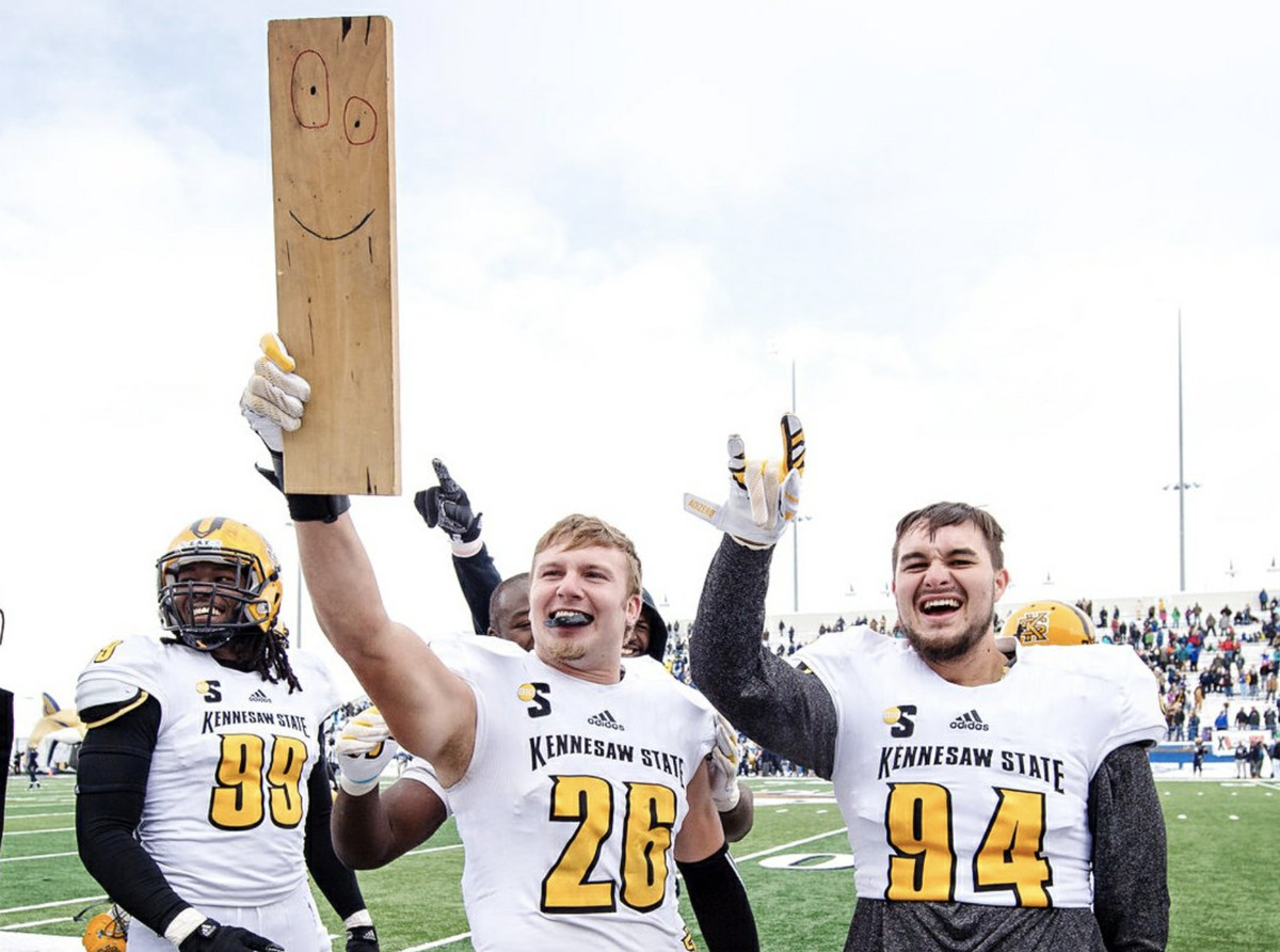 Kennesaw State's Turnover Plank: The full story of college