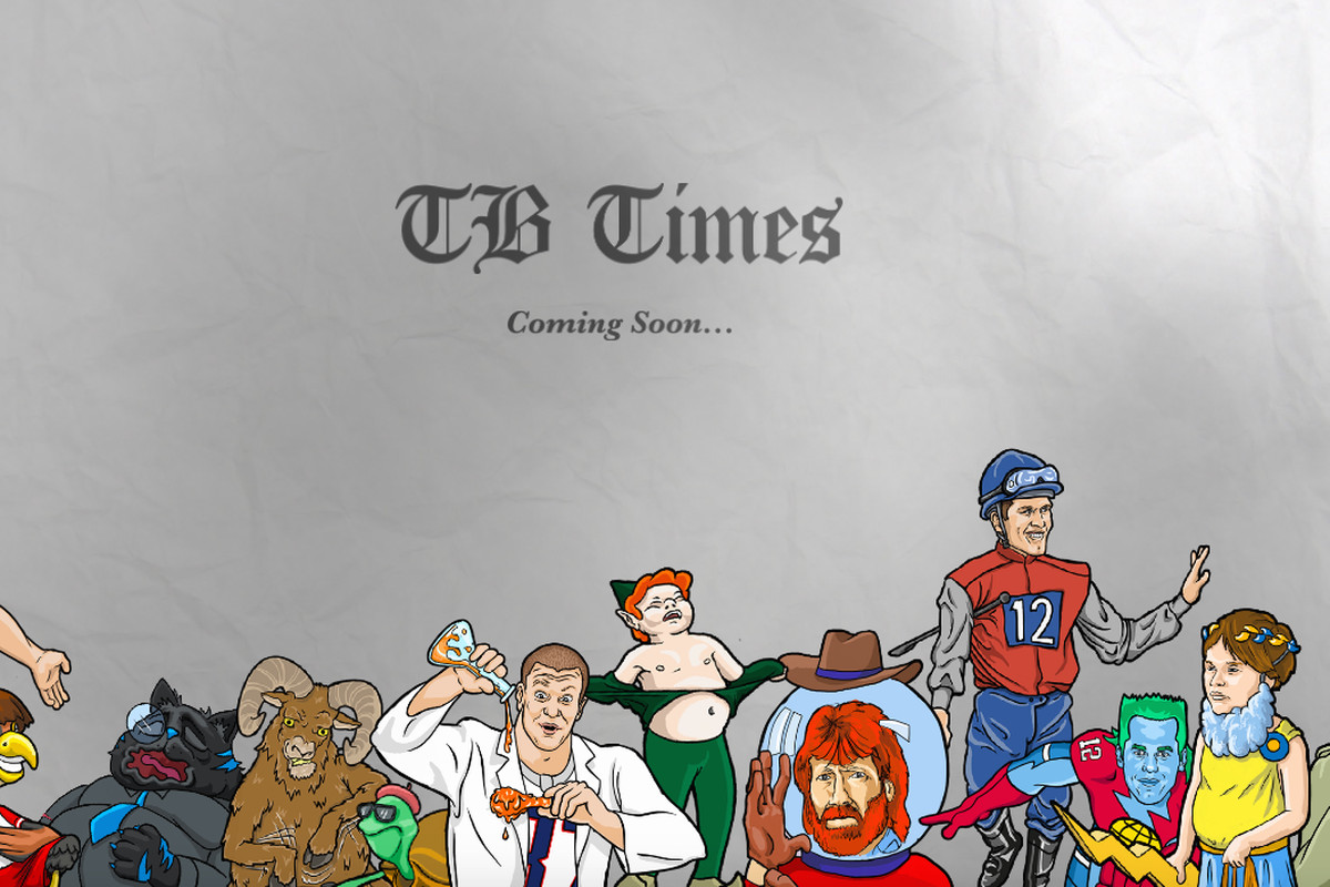 217486827 Tom Brady made a website for his TB Times cartoons