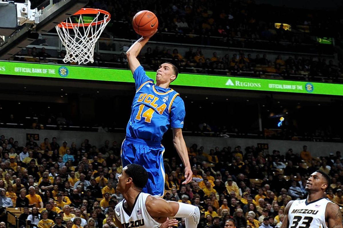 Zach LaVine out of UCLA is a high-flyer and long-bomber.