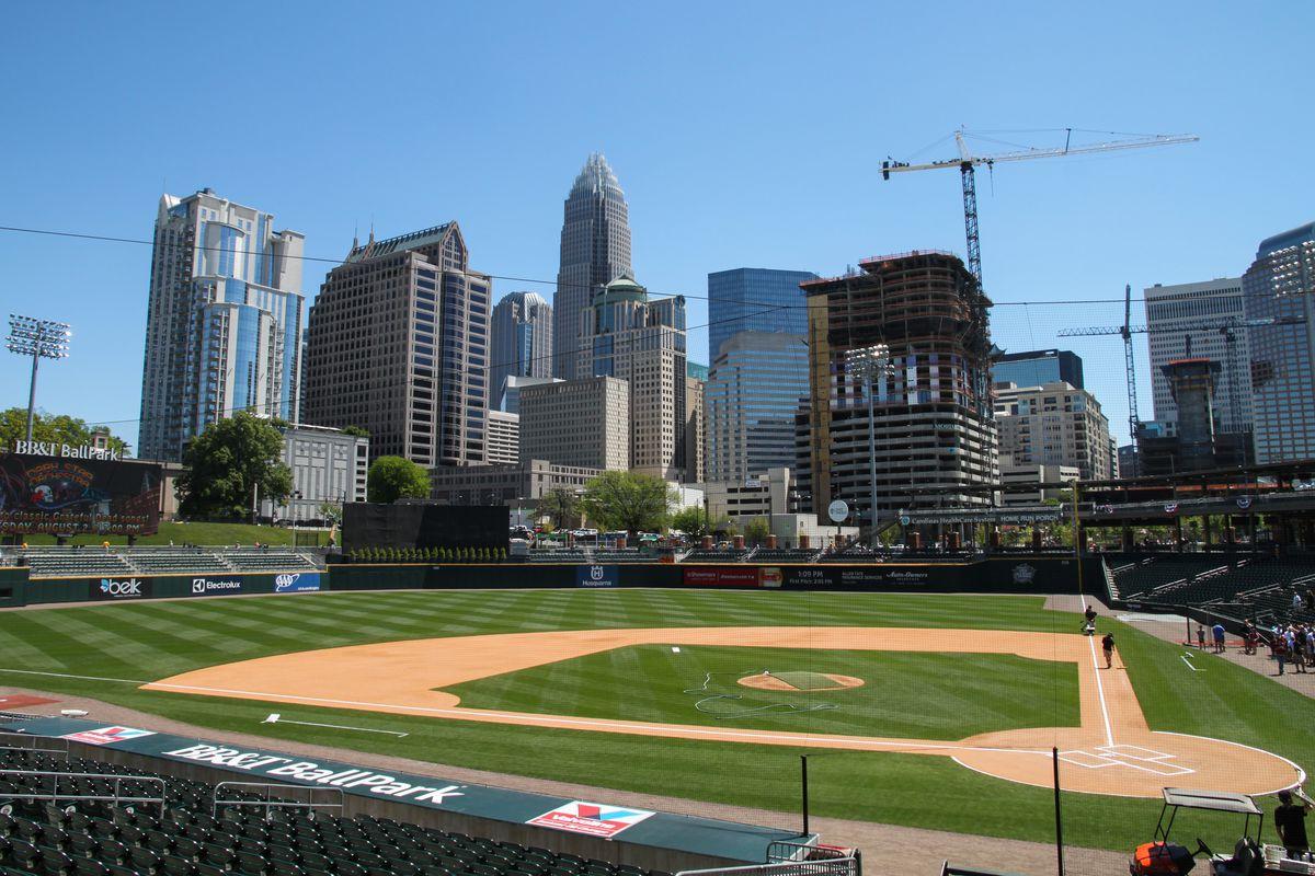 BB&T Ballpark in Charlotte
