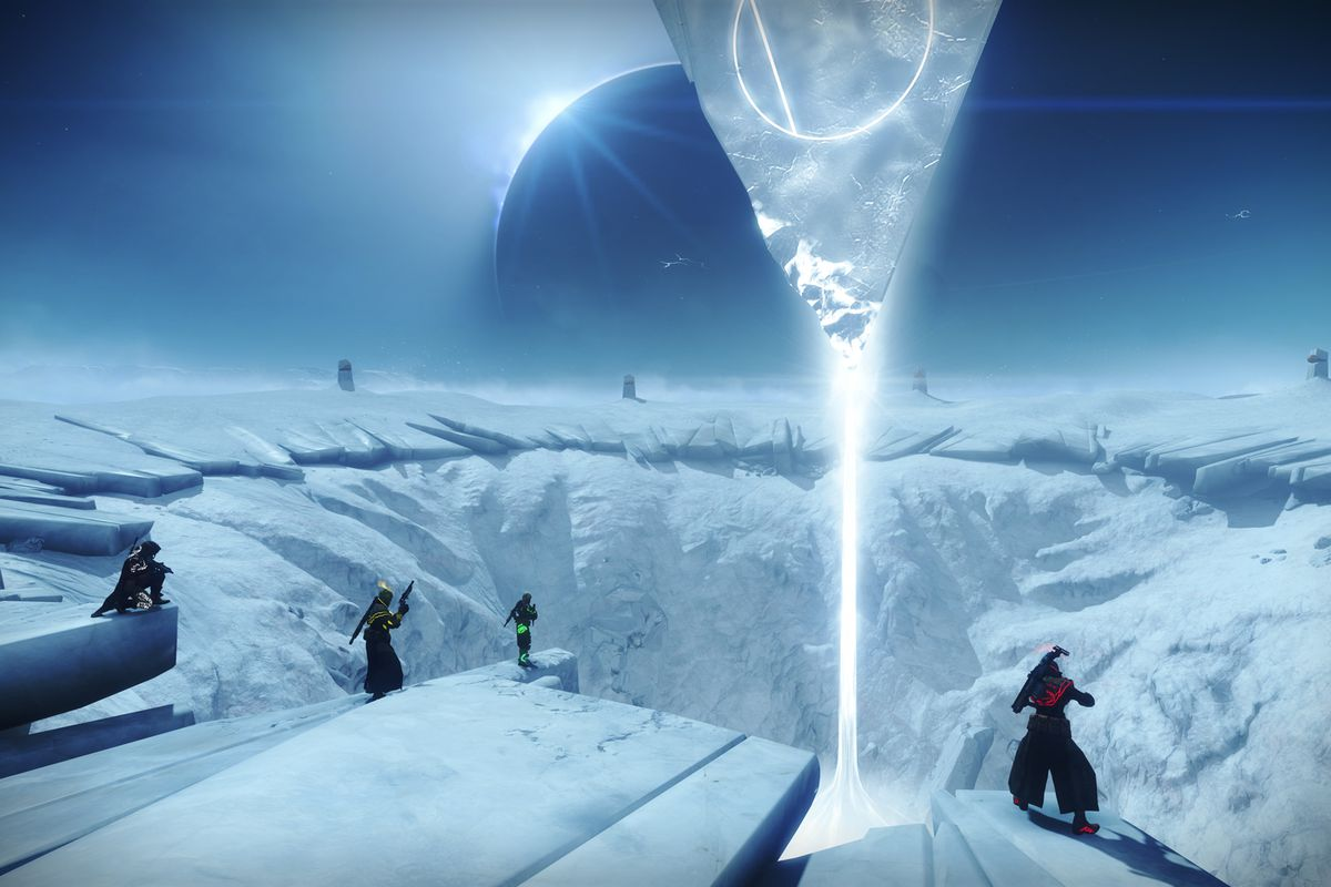 Destiny 2 Season of the Drifter - Realm of the Nine launch pad in Reckoning