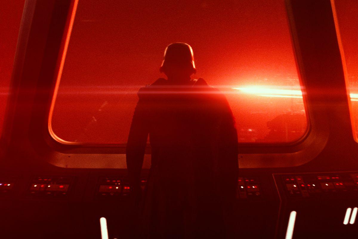 Kylo Ren in Star Wars: The Force Awakens