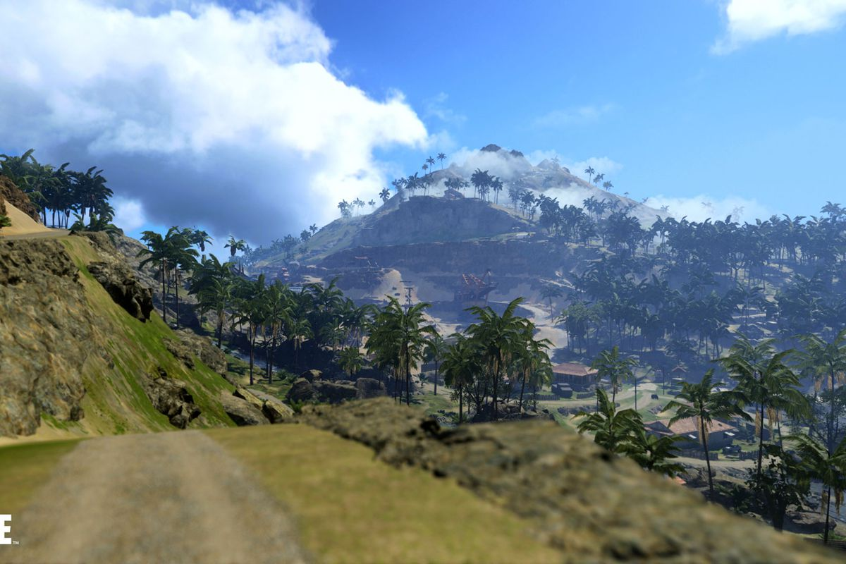 Call of Duty: Warzone's new Pacific map for Vanguard