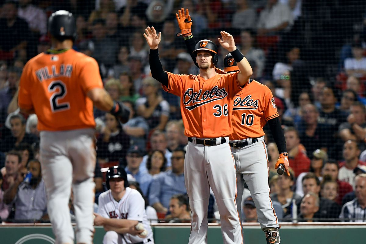 MLB: Game Two-Baltimore Orioles at Boston Red Sox